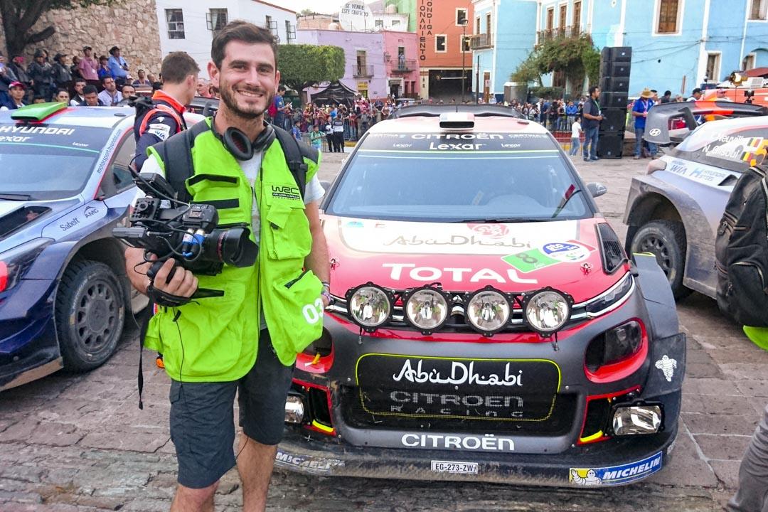 Yann Couvrand - Mexique 2017 - Citroën Racing WRC