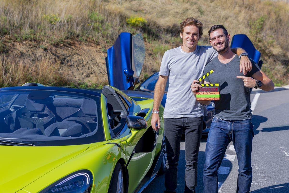 Réalisation sujet McLaren 600LT - Viaduc de Millau - Top Gear France