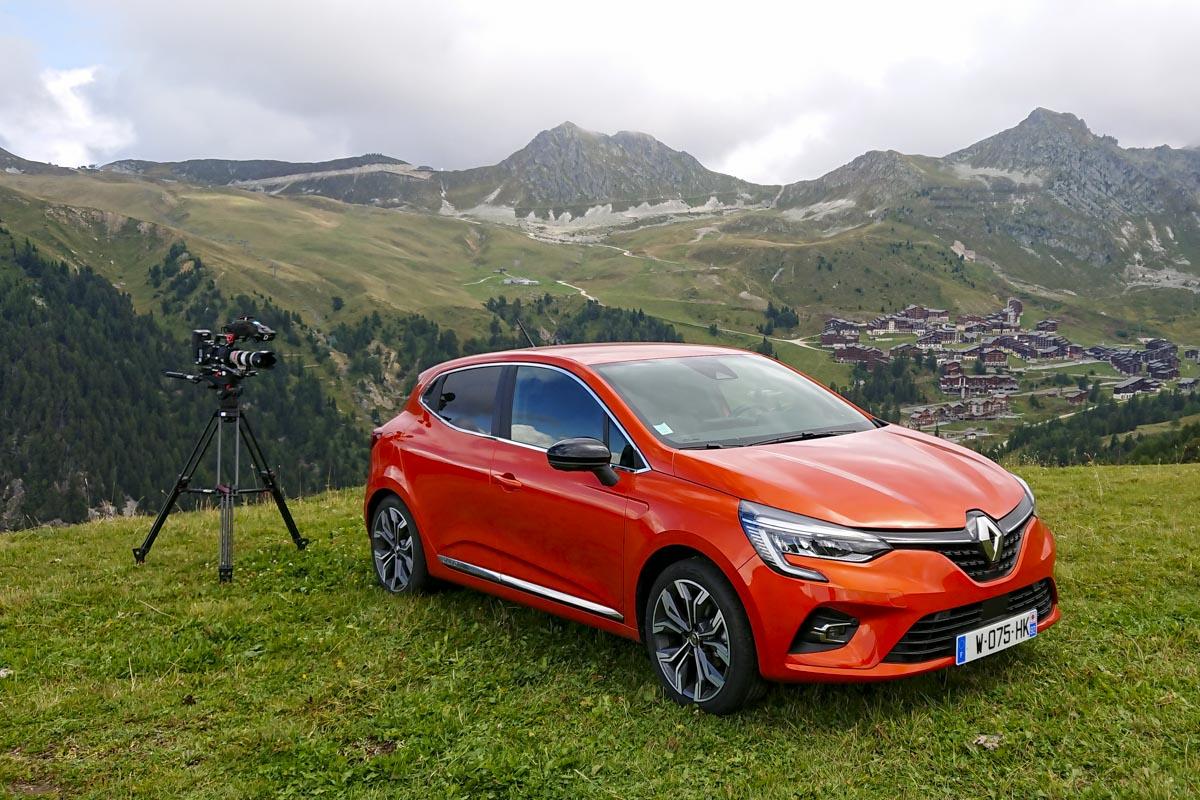 Réalisation sujet Clio - La Plagne - Top Gear France