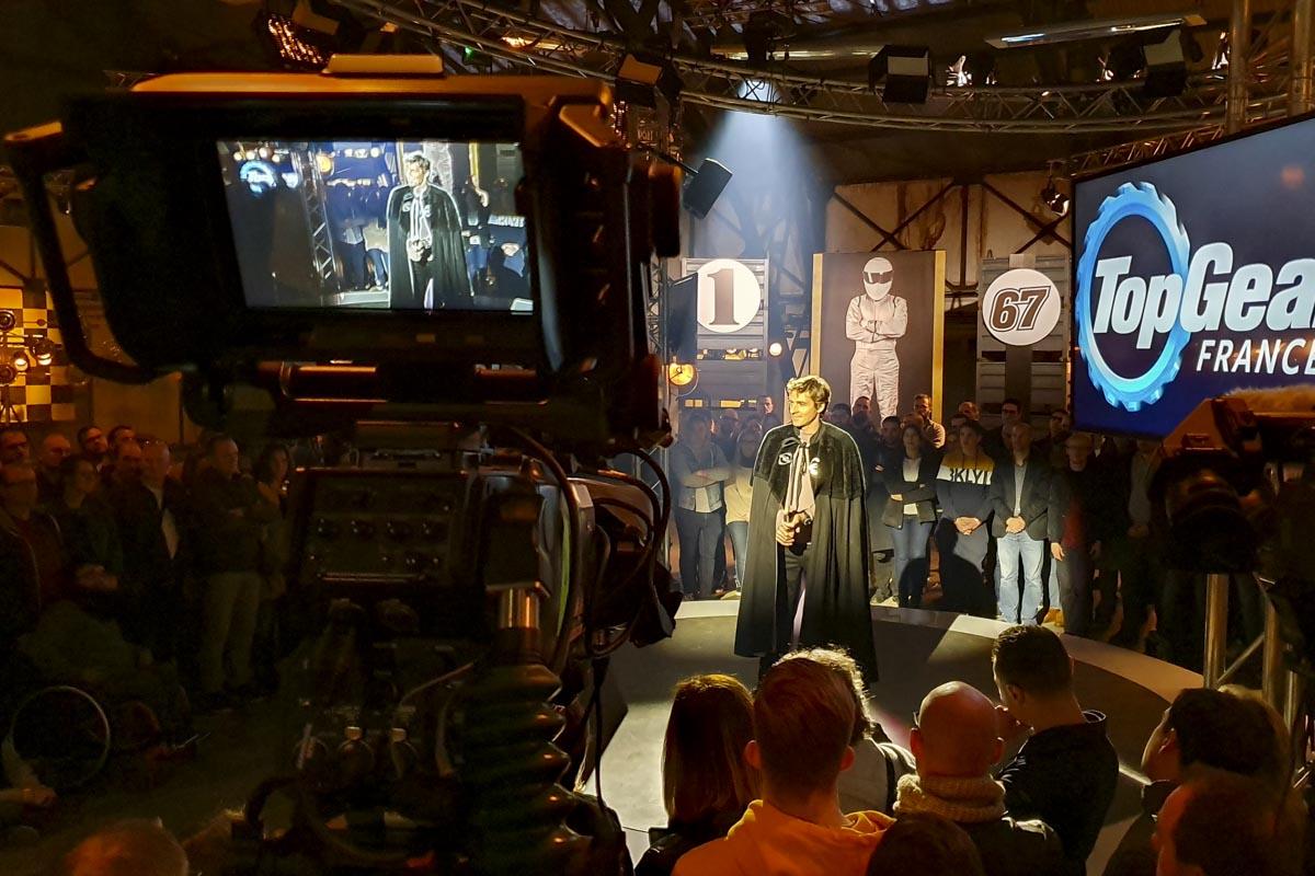 Plateau émission - Brienne - Top Gear France
