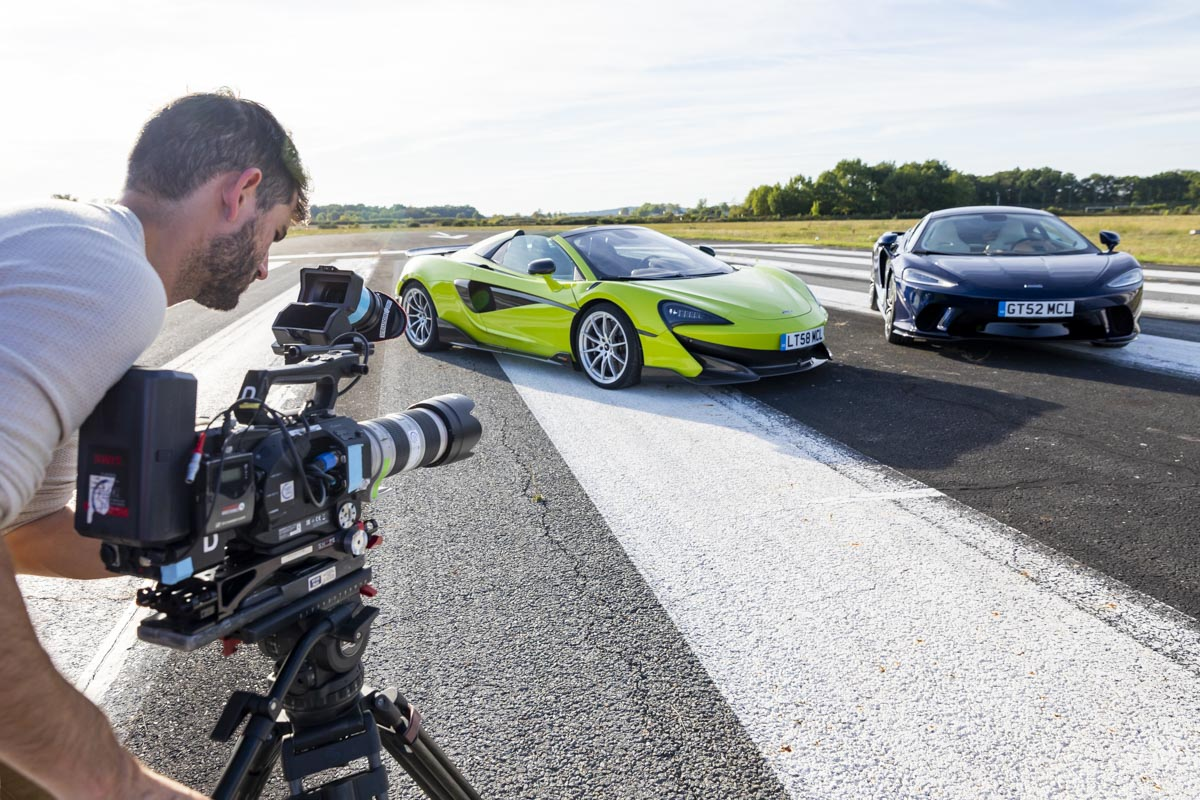 Packshots McLaren 600 LT et McLaren GT - Albi - Top Gear France