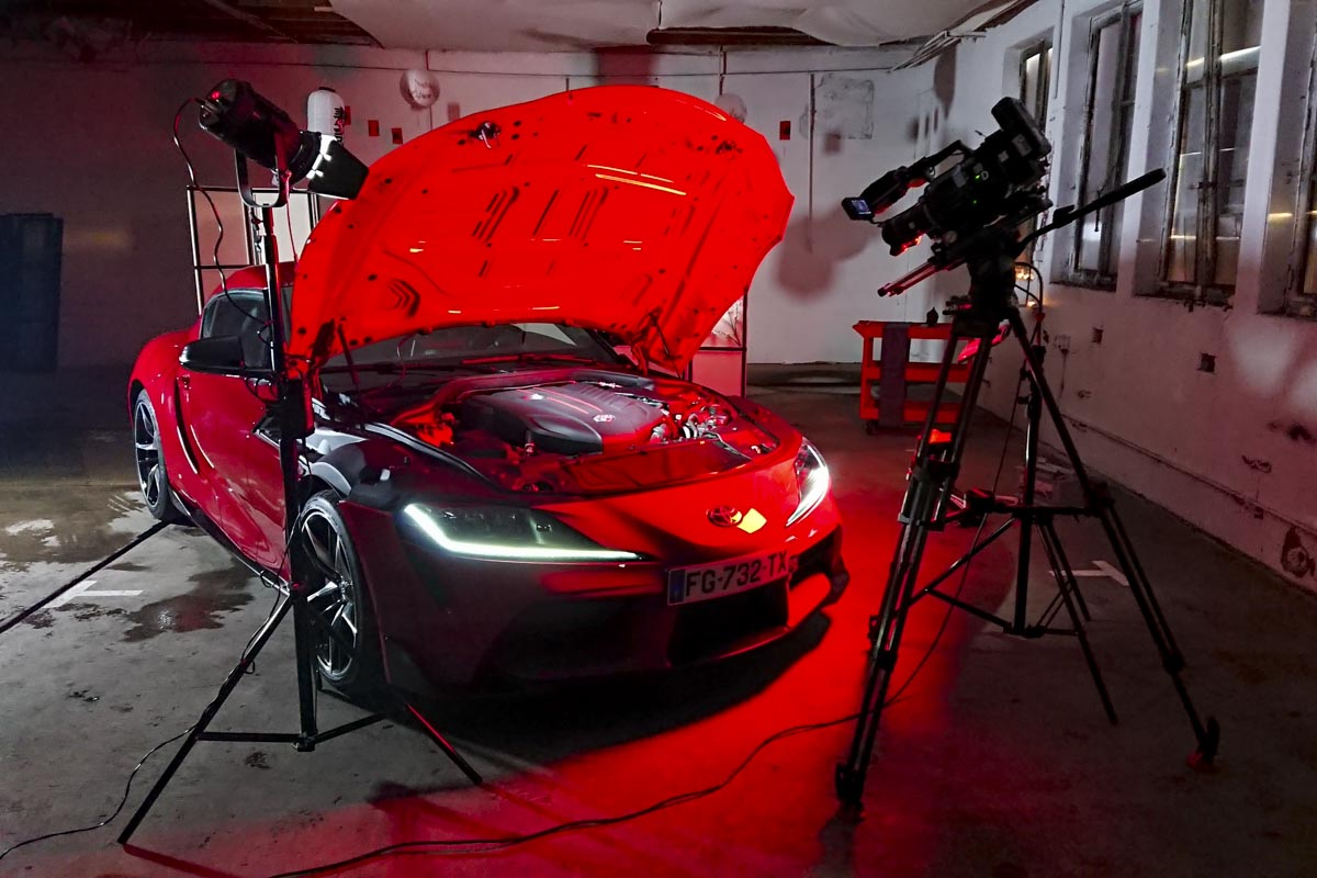 Packshots Toyota Supra - Brienne - Top Gear France